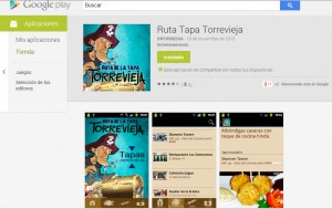App Ruta de la Tapa Torrevieja