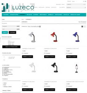 catalogo luzeco.com