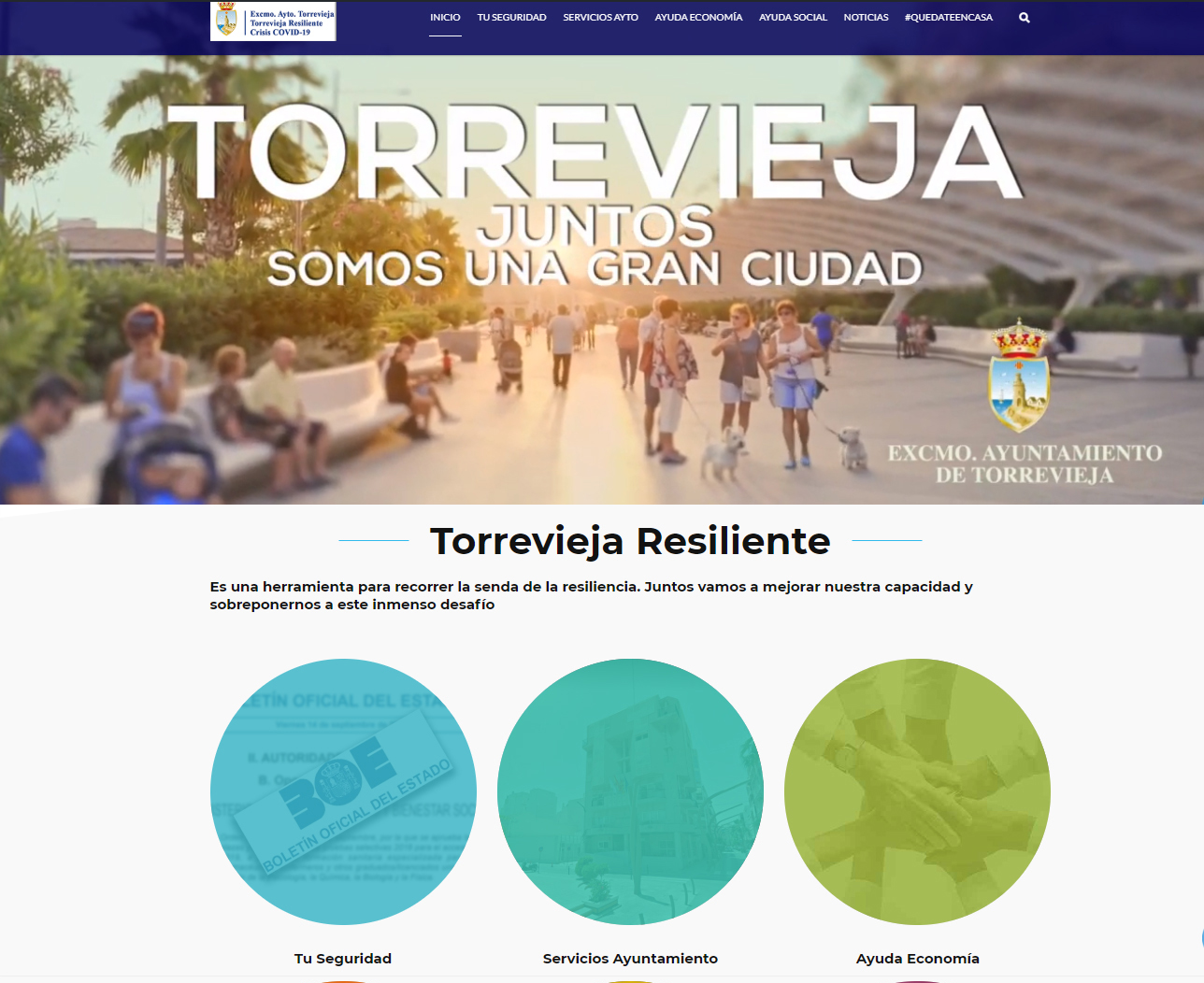 Web Torreviejaresiliente